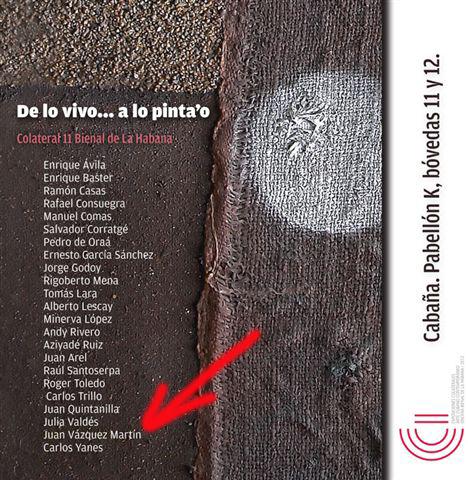 Exhibición de pintores abstractos cubanos, Bienal de la Habana, 2012