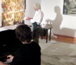 click on to watch Painting and piano art show