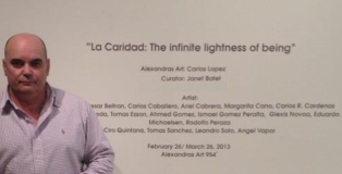 Carlos-Lopez-Cachita:The infinite lightness of Being
